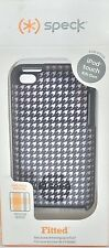 Authentic Speck Fitted Case for iPod Touch 4th Gen Black pattern SPK-A0102