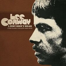 Lee Conway - I Just Didn't Hear (Early Roads 1969-1973) [New CD]