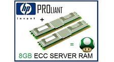 8GB (2x4GB) ECC FB-DIMM Memory Ram Upgrade HP Proliant BL460c G1/G5 Servers