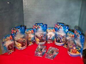 Monogram Batman Figurine lot of 10 New on Card Robin Bane The Joker Harley Quinn