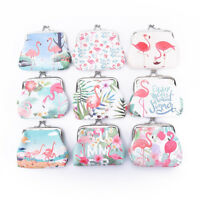 flamingos women wallet small card holder coin purse ladies clutch handbag_ZT