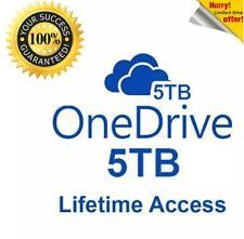 OneDrive 5TB ✔️ LifeTime Account - Guaranteed fast delivery ✔️ Custom Username