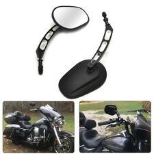 Spiegel Rückspiegel Harley Sportster 1200 Softail Touring Dyna Edge Cut Schwarz