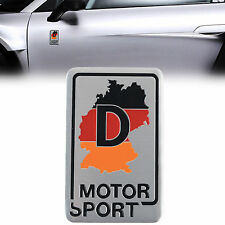 D113 Motor Sport De auto aufkleber top 3D Emblem Badge Plakette Schriftzug  Alu