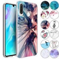 Handy Hülle Huawei P30 Lite Schutz Hülle Silikon Tasche Cover Handyhülle Case