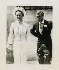 Wallis Simpson, duchesse de Windsor, épouse le prince Édouard, duc de Windsor. V