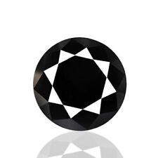 0.21cts 100% Natural earth mined rare brilliant luster aaaaa jet black diamond