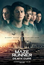 """009 MAZE RUNNER THE DEATH CURE - Action Thriller USA Movie 14""""x20"""" Poster"""