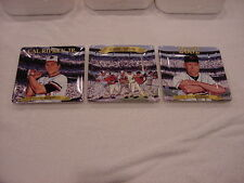 Very Rare Cal Ripken, Jr. Rookie to Legend 3-Plate Set, Baltimore Orioles, Mint!