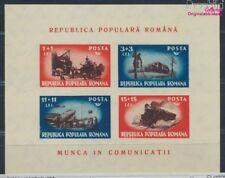 Roumanie Bloc 38 inutilisés 1948 transports (8688256