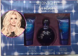 Britney Spears Midnight Fantasy EDP Spray 100ml Gift Set | Eau de Parfum