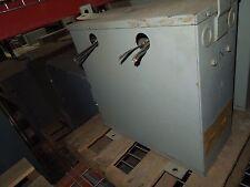 Reliance 15.4KVA 460x230-480Y/270V 3ph Dry Type Transformer Used E-OK