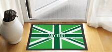 Paillassons, tapis de sol vert en polyester pour la maison