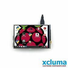 "XCLUMA 3.5"" LCD TFT DISPLAY FOR RASPBERRY PI 2 MODEL B BOARD WITH STYLUS BE0318"