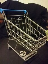 Dollhouse Miniature Black Metal Grocery Cart EIWF570