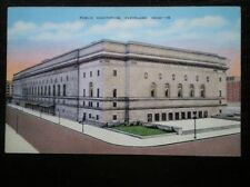 POSTCARD USA OHIO CLEVELAND - PUBLIC AUDITORIUM