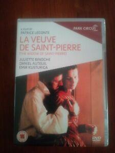 The Widow of Saint-Pierre DVD