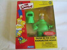 Simpsons Glow In The Dark Radioactive Homer Figure