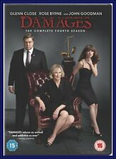 DAMAGES - COMPLETE FOURTH SEASON -SEASON 4 ***BRAND NEW DVD ***