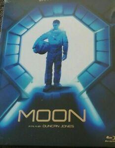 MOON Blu-Ray Blue Full Slip D'Ailly  445 of 700 Sam Rockwell  Korea  Import