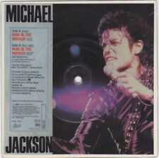 "Michael Jackson MAN IN THE MIRROR Disque 45t 7"" Vinyl Square PICTURE DISC 1988"