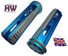 softair aeg metal piston & head full steel teeth  high torque blue m series v3