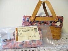 NEW Longaberger Old Glory/Flag Fabric Liner 4 Your Little Market Basket - USA