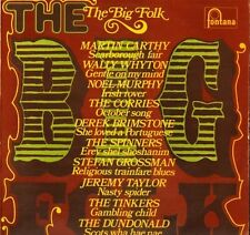 THE BIG FOLK martin cathy/corries/tinkers/jeremy taylor/noel murphy LP PS EX/EX