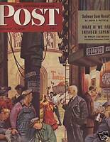 1946 Saturday Evening Post Jan 5- If we'd invaded Japan