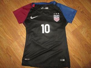 Womens NIKE DRI FIT WOMENS USA SOCCER LLOYD #10 JERSEY shirt sz S Sm