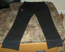 Mens Lazer Garment Co. Authentic Utility Workwear Pants Black Size 30 NWT