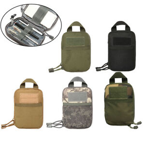 Outdoor Tactical Molle Medical First Aid Edc Pouch Phone Pocket Bag Organizer;FY