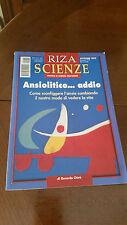 ANSIOLITICO.... ADDIO - RIZA SCIENZE - 2002