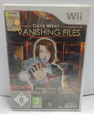 Console Game Gioco NINTENDO WII PAL ITA NUOVO - Cate West The Vanishing Files -