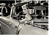 Girl & Car Bellezze e Motori Dolce Vita Automobile FIAT PC Circa 1960 Real Photo