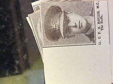 a1k ephemera 1917 ww1 small picture c f g hollis the buffs