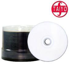 50 Taiyo Yuden Watershield CD-R Rohling Glossy printable inkjet 700 MB Cakebox