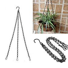 50cm Weight-bearing 12kg Iron Plant/Pot/Flower Basket Holder Hanging Chain XG