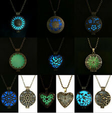 Vintage Magic Fairy Glow In The Dark Necklace Cool Love Heart Mom Friend Gifts