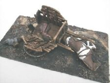 SGTS MESS HD3 1/72 Diecast Damaged Cart with Dead Horse and Civilian Casualties