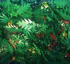 Lego 20 Teile gemischte Grünteile Sträucher Blumen Zweige City Basic Grüngut