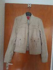 Lederjacke von Vero Moda, Größe: XL, Farbe: Beige