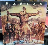 KANSAS SELF TITLED S.T.  LP 1974 CBS PZ 32817 INNER SLEEVE