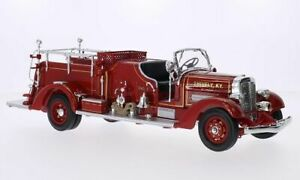 Ahrens Fox VC, Shively Fire Dept., 1:24, Lucky Die Cast