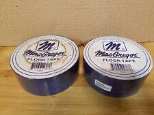 "Set of 2 MacGregor Floor Marking Tape 2"" W X 60 yards L Blue"