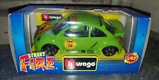 Modellino Burago Volkswagen New Beetle Cup, scala 1:43