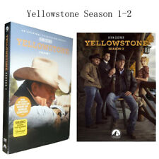 Yellowstone Season 1-2 TV Series The Complete First Second (DVD,8 Disc Set) New