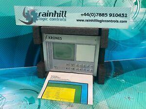 KRONES. 2-098-85-101-0 Operator panel. (UK And EU Please Read)