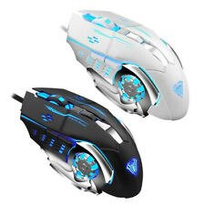 Quality Wired Gaming Mouse Mice 6 Button USB 2.0 7 Colors LED Luminous