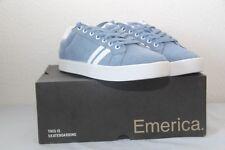 Original chaussure homme skate EMERICA The Léo T : 45  bleu neuf
